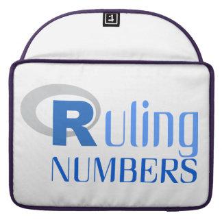 Tragbare Hülle für numbers von Ruling Sleeves Für MacBooks