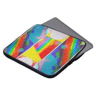 Tragen Sie den Regenbogen Laptopschutzhülle