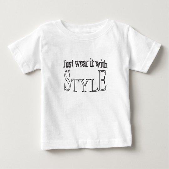 Tragen Sie es einfach mit Art Baby T-shirt