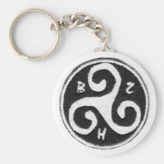 Tragen Sie Schlüssel die Bretagne Standard Runder Schlüsselanhänger