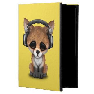 Tragende Kopfhörer niedliches BabyFox