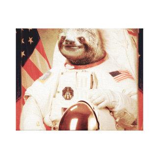 Trägheit Astronaut-Trägheitraum TrägheitTrägheit Leinwanddruck