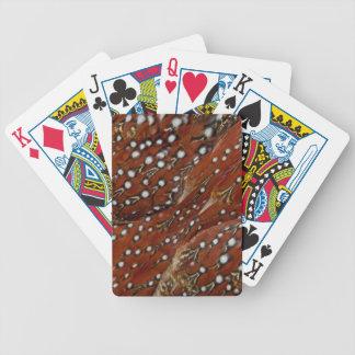 Tragopan Brust versieht Detail mit Federn Bicycle Spielkarten