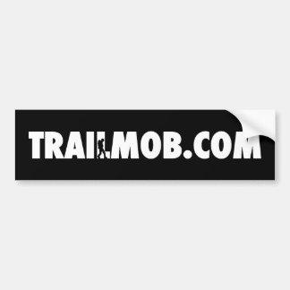 TrailMob - klassischer Stoßdämpfer Autoaufkleber