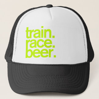 TRAIN.RACE.BEER. Fernlastfahrer-Hut Truckerkappe