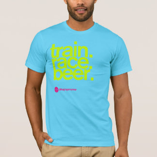 TRAIN.RACE.BEER. OM T - Shirt