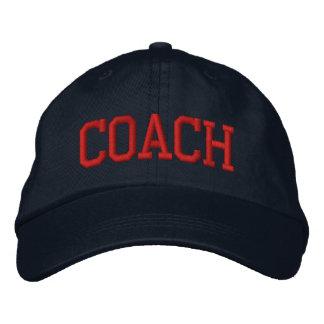TRAINER BESTICKTES CAP