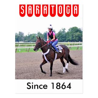 Trainings Eddie Keneally bei Saratoga Postkarte