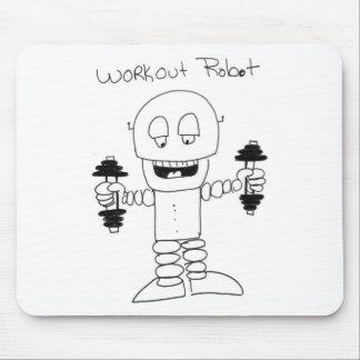 Trainings-Roboter Mousepad