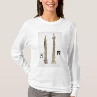 Trajans Spalte, Rom, von 'Le Costume Ancien und T-Shirt