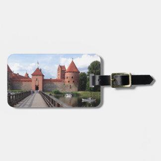 Trakai Insel-Schloss - LITAUEN --- Kofferanhänger