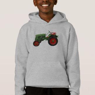 Traktor-grüner Kapuzenpulli Hoodie