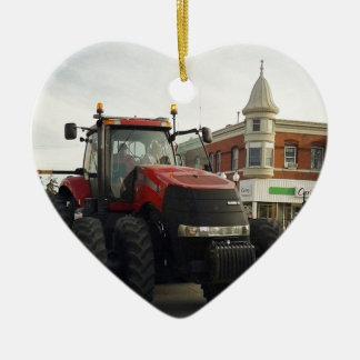 Traktor in der Traktor-Parade Keramik Ornament