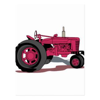 Traktor Postkarte