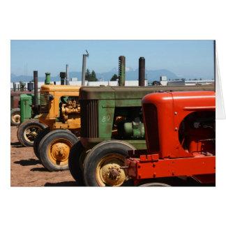 Traktor-Reihe Karte