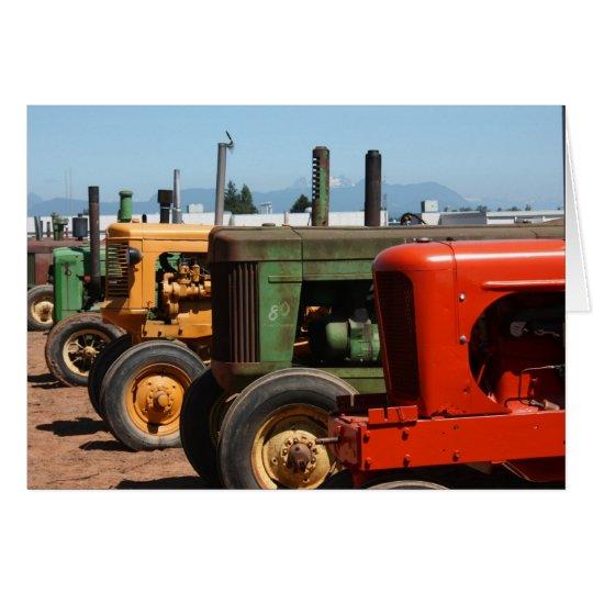 Traktor-Reihe Mitteilungskarte