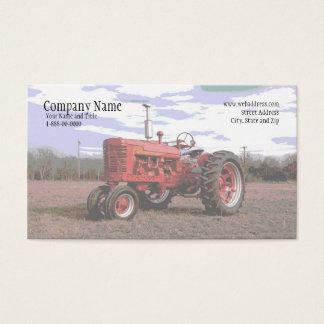 Traktor-Visitenkarte Visitenkarte
