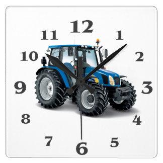 Traktorbild für runde große Wanduhr