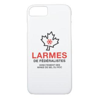 Tränen von Föderalisten Humor Quebec IHRE FARBEN iPhone 8/7 Hülle
