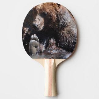 Tränkender Bär Tischtennis Schläger