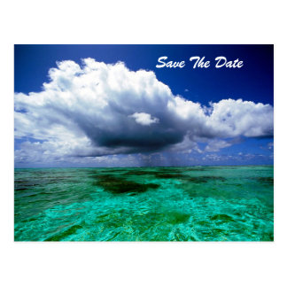Tranquility-Save the Date Postkarte