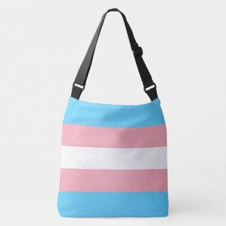 Transgender-Stolz-Flagge LGBT ganz über Druck Tragetaschen Mit Langen Trägern