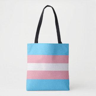Transgender-Stolz-Flagge Tasche