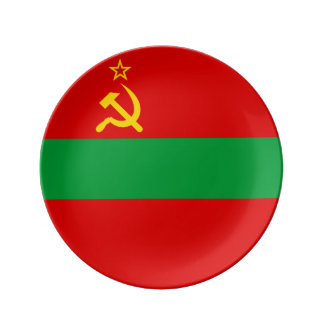 Transnistrien-Flagge Teller