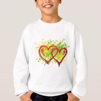 transparente Herzen t-Herzens Sweatshirt