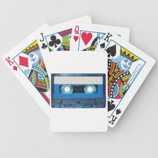 Transparenter Hintergrund der Kasette Bicycle Spielkarten