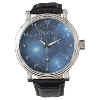 Transparenter Skorpion Armbanduhr