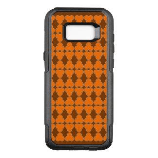 Transparentes elegantes Muster des Klees halb OtterBox Commuter Samsung Galaxy S8+ Hülle