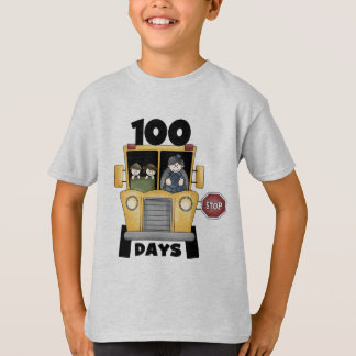 Transportieren Sie 100 Tage SchulT - Shirts und