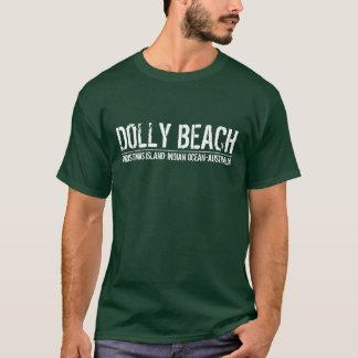 Transportwagen-Strand T-Shirt