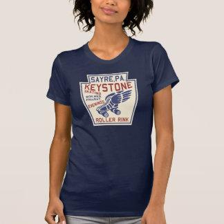 Trapezfehlerrollen-Eisbahn T-Shirt