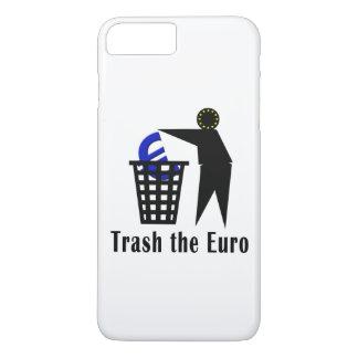 Trash den Euro iPhone 8 Plus/7 Plus Hülle