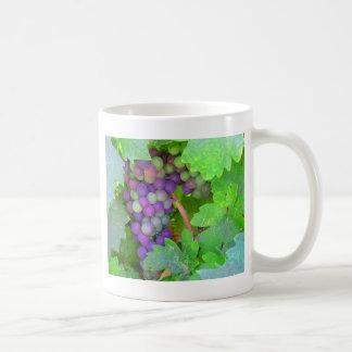 Trauben auf der Rebe Kaffeetasse