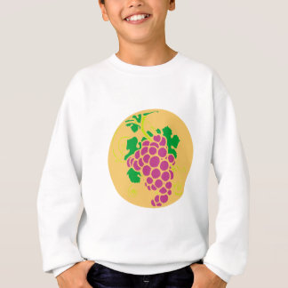 Trauben grapes sweatshirt