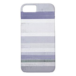 """""""Trauben-"""" lila und graue abstrakte Kunst iPhone 8/7 Hülle"""