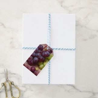 Trauben rot und grün geschenkanhänger