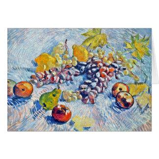 Trauben, Zitronen, Birnen und Äpfel Vincent van Karte