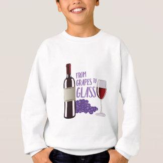 Trauben zum Glas Sweatshirt