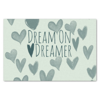 Traum auf Träumer Seidenpapier