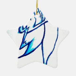 Traum verfassen zeichnen keramik Stern-Ornament