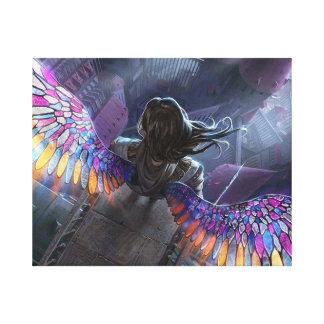 Traum zum zu fliegen leinwanddrucke