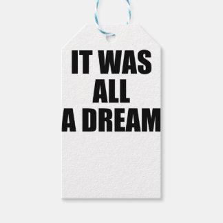 Träume Geschenkanhänger