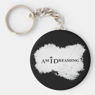 Träume ich? Grundlegendes Keychain Schwarzes Schlüsselanhänger