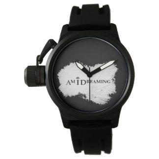 Träume ich? Uhr-Schwarzes Uhr
