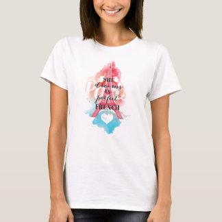 Träume im französischen T - Shirt