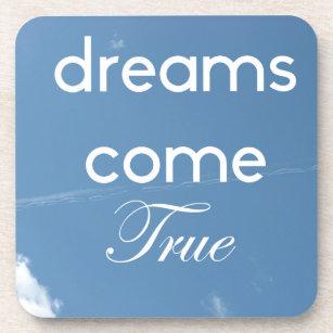 Träume kommen wahrer Untersetzer